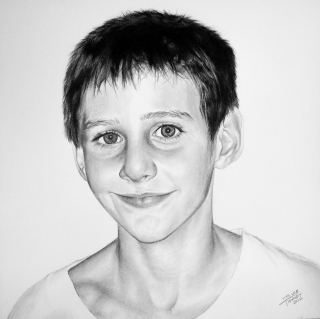 Graphite and Charcoal, 2012. Gift to family.