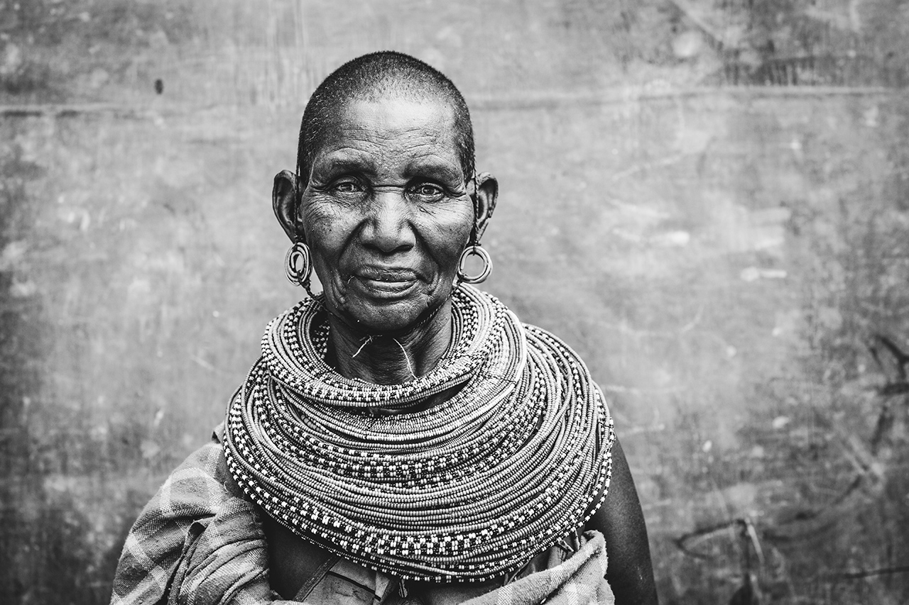 This is the mother of a well-respected Christian leader in the South Horr area. Despite having malaria and not feeling too hot, she graciously allowed me to take her photo. So beautiful and stunning.