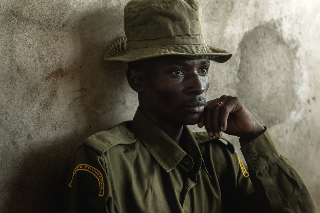 Despite his father's death, Justus has dedicated his life to protecting the species that took his father's life.  Rhinos are now a source of life for Justus and his family.