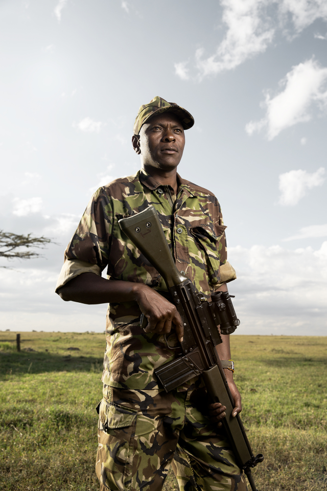 Assistant Security Manager at Ol Pejeta Conservancy.